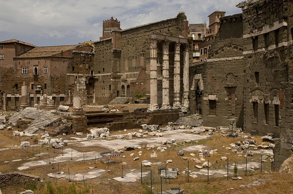Forum palatine, Imperial forums Rome