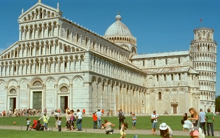 Cathedral Pisa Square of Miracles Italy