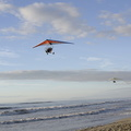 Propelled hang glider