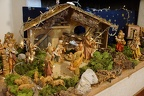 Christmas decorations nativity scene