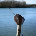 Scoop net fishing
