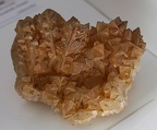 Orange calcite stone