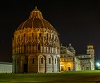 Square of Miracles Pisa Italy,Pisa at night