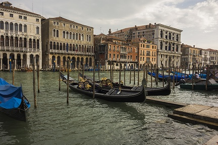 Why are gondolas black?